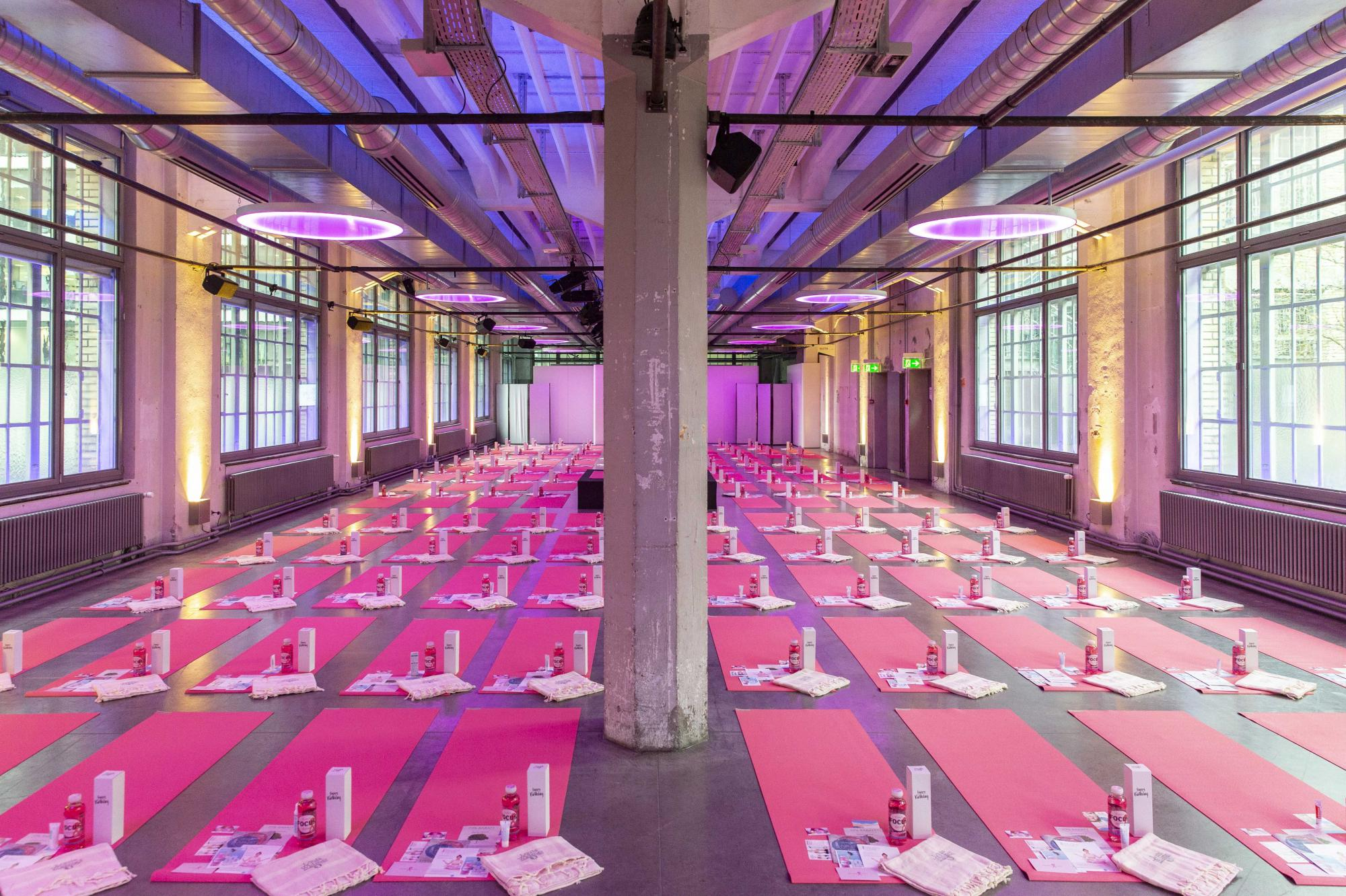 Pink Ribbon Yoga-Event
